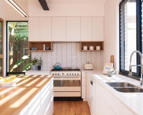 Balfour House - Metal Windows - kitchen after