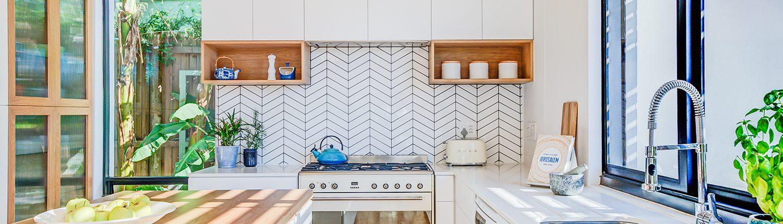 House Balfour - Kitchen View