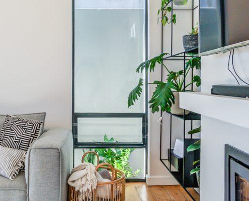 Metal Windows - Lounge window After