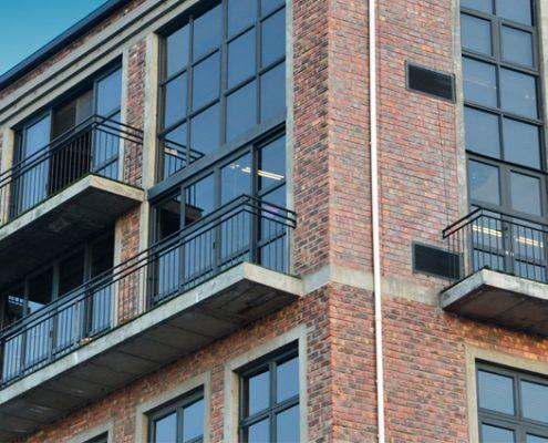 Castle Brewery - Metal Windows