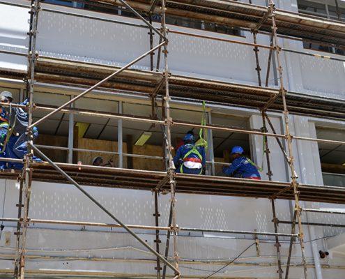 RT During renovation - Metal Windows