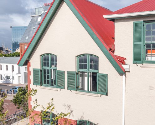 The Waterfront Theatre School - Metal Windows - Aerial View