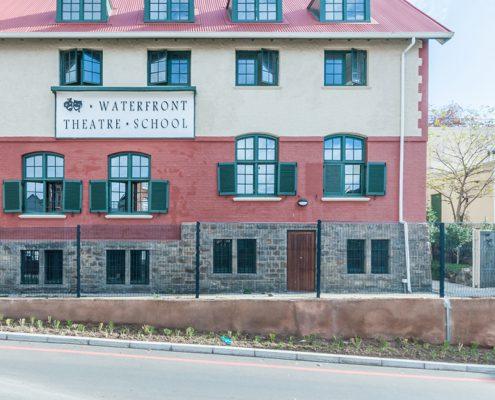 The Waterfront Theatre School - Metal Windows - Billboard View