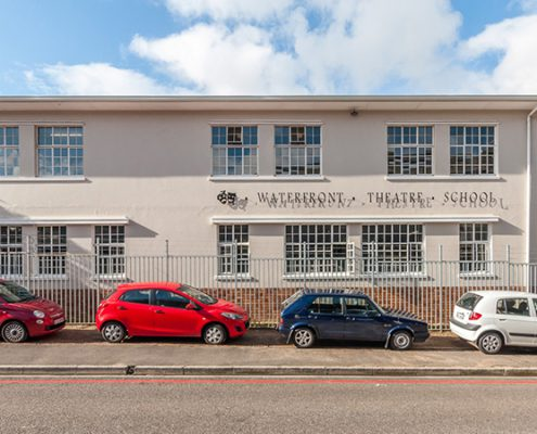 The Waterfront Theatre School - Metal Windows - Car Park