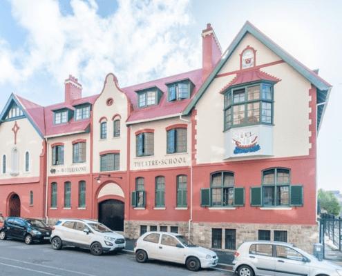 The Waterfront Theatre School - Metal Windows - CarPark View