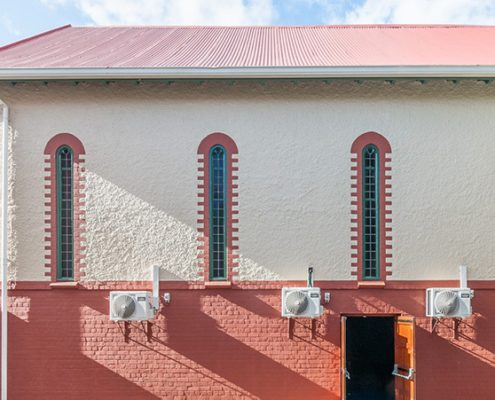 The Waterfront Theatre School - Metal Windows - EXterior Picture