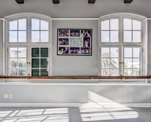 The Waterfront Theatre School - Metal Windows - Interior View