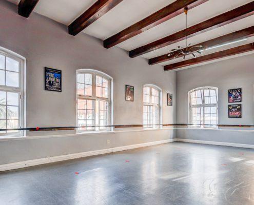 The Waterfront Theatre School - Metal Windows - Interior White View