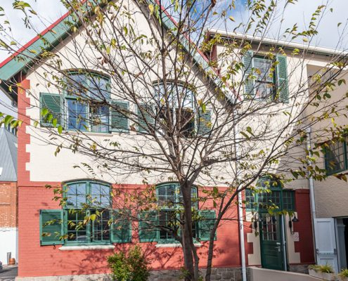 The Waterfront Theatre School - Metal Windows - Main Entrance View